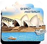 Sydney Opera House Australia OZ Resin Thai Magnet Hand Made Craft
