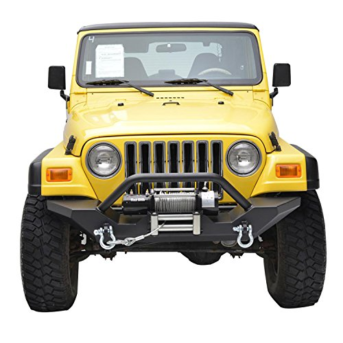 Paramount Restyling Front Heavy Duty Bumper for Jeep TJ YJ