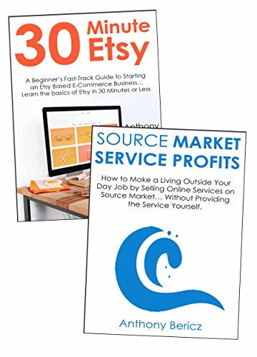 Product & Service Seller Bundle: How to Make a Living Selling Products on Etsy & Providing Online Services on Source Market (Product Service compare prices)