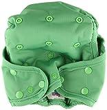 Kissa's One Size Diaper Cover, Grassy Green