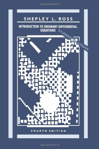 Introduction to Ordinary Differential Equations, Student...