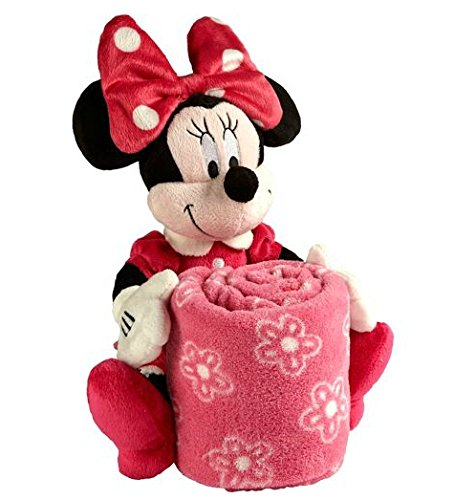 Disney Minnie Mouse Plush with Blanket - 1