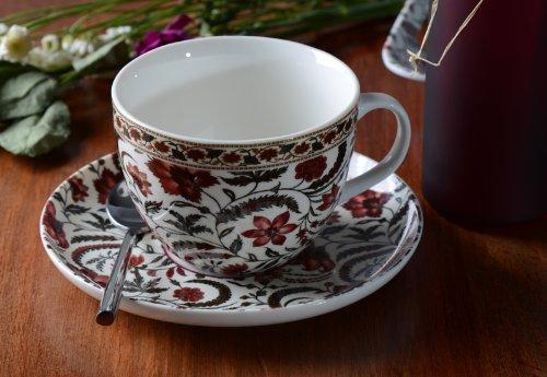 V&A Coromandel Coast Fine China Breakfast Cup & Saucer Set