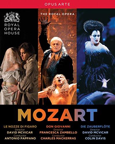 Mozart: Operas Box Set (The Royal Opera) [5 Blu-ray]