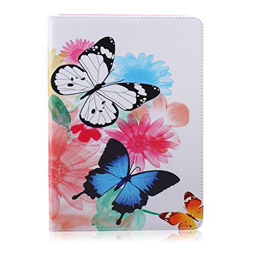 Click to buy iPad Air Case, iPad 5 Case, WITCASE® Colorful Painting Magnetic Closure Design Wallet Case with Flip Stand Smartshell Cover for Apple iPad Air/iPad 5 (Butterfly) - From only $8.95