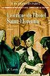 Le crime de l'h�tel de Saint-Florenti...