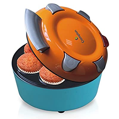 Crompton Greaves ACGT-CKM71-I 700-Watts Mini Cup Cake Maker (Orange/Blue)