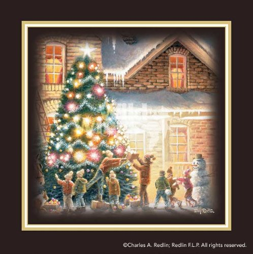 Christmas Tree by Terry Redlin Print Open Edition