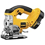 DEWALT DC330K Heavy-Duty 18-Volt Ni-Cad Cordless Top Handle Jig Saw Kit