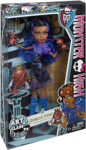 Monster High Art Class Robecca Steam Doll (Monster High Doll Robecca Steam compare prices)