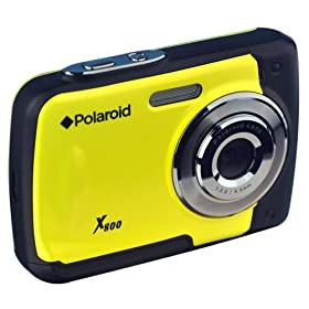 Polaroid CXA-800YC 8MP Waterproof Digital Camera - Yellow