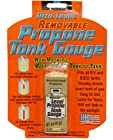 Removable Accu-Level Propane Tank Gauge with Magnetic back