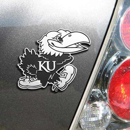 [해외]NCAA 캔자스 Jayhawks 팀 Promark 프리미엄 금속 상징, 표준, 금속/NCAA Kansas Jayhawks Team Promark Premium Metal Emblem, Standard, Metal