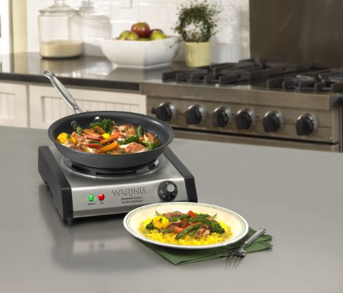 Best Countertop Portable Stove : ... Countertop Portable Burner Electric Hot Plate Stove Cook Kitchen, New