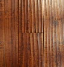 12.3 mm Durique Distressed Laminate Hazelnut Flooring (6 inch Sample)