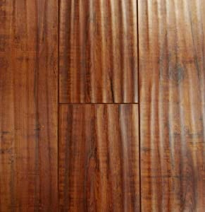 12.3 mm Durique Distressed Laminate Hazelnut Flooring (6 inch Sample)