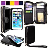 For Apple iPhone 6 6S Ladies Bag Case - Cellularvilla PU Leather Wallet Flip Bag Pouch With Credit Card Slots and Money Slot and Other Stuff Case Cover For Apple iPhone 6 6S 4.7