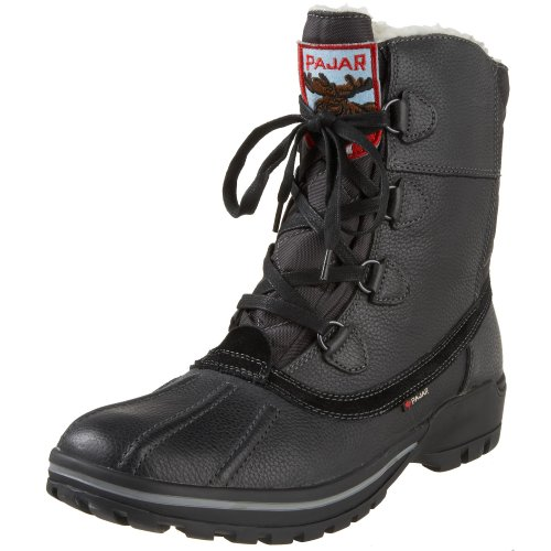 Pajar Men's Banff Boot,Black,42 EU (US Men's 9-9.5 M)