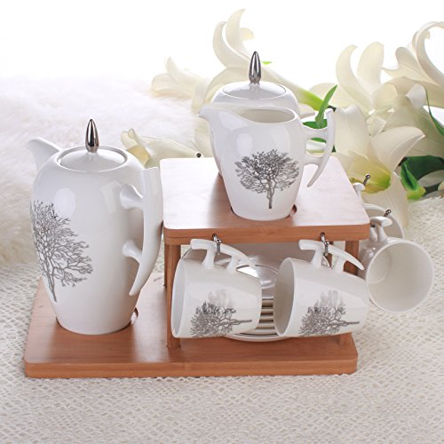continental-simple-fashion-snow-tree-wood-ceramic-coffee-cup-and-saucer-tea-gift-sets-wood-shelf-kit