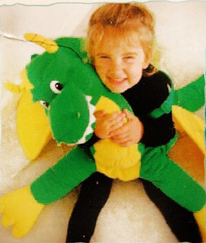 Animal Ride Green Dragon With Wings Child Costume Ages 2-5
