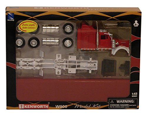 New Ray Toys 1:43 Kenworth Truck Model Kit - 1