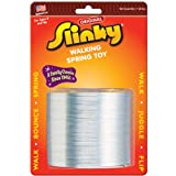 POOF-Slinky Model #101 Metal Original Slinky in Blister Card Packaging, Single Item, Silver