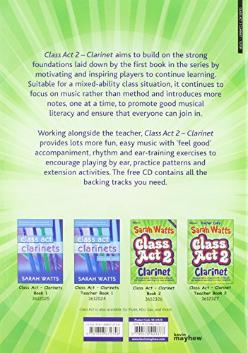 CLASS ACT 2 CLARINET STUDENT