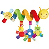 Taggies Go with Me Friends Caterpillar Carrier Toybar
