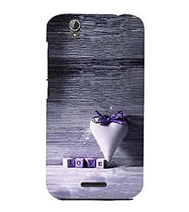 Fuson Premium Lavender Love Printed Hard Plastic Back Case Cover for Acer Liquid Z630