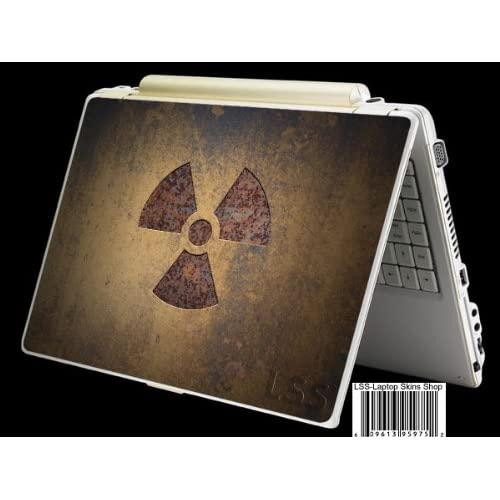 Laptop Skin Shop Laptop Notebook Skin Sticker Cover Art Decal Fits 13.3 14 15.6 16 HP Dell Lenovo Asus Compaq (Free 2 Wrist Pad Included) Nuke Nuclear Sign
