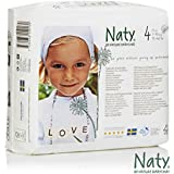 Nature Babycare Eco-Diapers Size 4 (4-pack)