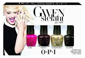 OPI Gwen Stefani Nail Polish, Rock Starlets Mini, 4 Count