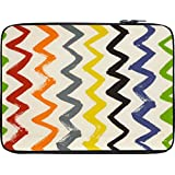 Snoogg Backward Forward Waves 2523 12 To 12.6 Inch Laptop Netbook Notebook Slipcase Sleeve