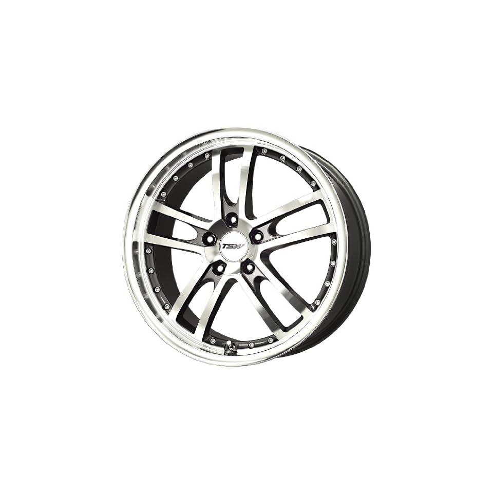 TSW Alloy Wheels Cadwell Gunmetal Machined Wheel (19x8/5x114.3mm)