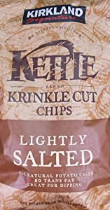 KIRKLAND カークランドシグネチャー KETTLE ポテトチップス 907g KRINKLE CUT CHIPS