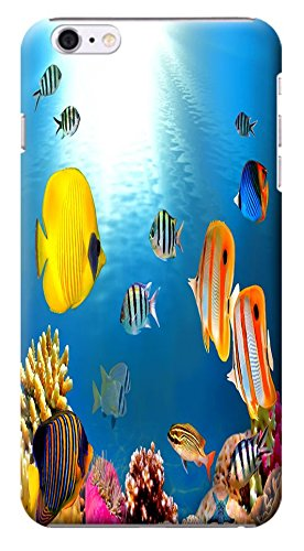 "HUAHUI Case / Cover UnderSea World Beautiful Colorful Fishs Sunshine Special Design Cell Phone Cases For iPhone 6 (4.7"") Hard Cases No.18"
