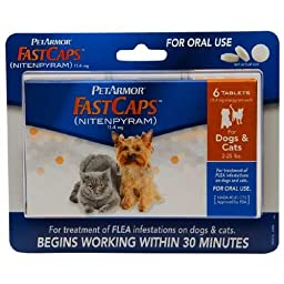 PetArmor FastCaps For Dogs & Cats, 2-25 lbs 6 ea