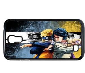 Treasure Design Naruto & Sasuke Funny Smartphone Samsung GalaxyS4 I9500 Durable Hard Cover Case
