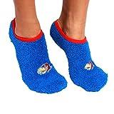 NCAA Kansas Jayhawks Foot-Z-Sox Slipper Socks, One Size, Blue