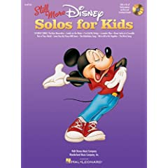 Still More Disney Solos for Kids: Voice and Piano With a CD of Performances by Kids and Accompaniments