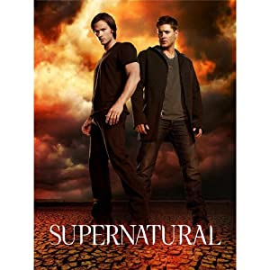 Supernatural (14inch x 19inch / 35cm x 47cm) Silk Print Poster - Seide Plakat - B2AD38