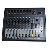 Webetop HD802D 8 Channel 16 DSP Professional Audio Mixer with USB