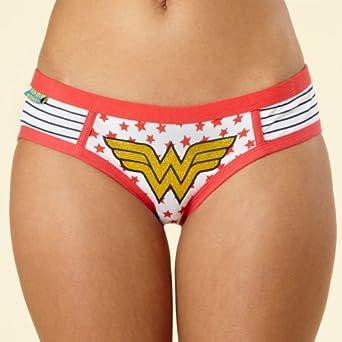 59b6f91ab1c4c SALE!! Debenhams Wonder Woman Boy Shorts REVIEW   UK woman underware