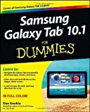 img - for Samsung Galaxy Tab 10.1 For Dummies by Gookin, Dan Published by For Dummies 1st (first) edition (2012) Paperback book / textbook / text book