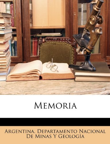 Memoria  (Tapa Blanda)
