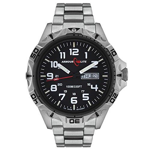 Armourlite-Professional-Series-AL1401-Steel-Tritium-Watch