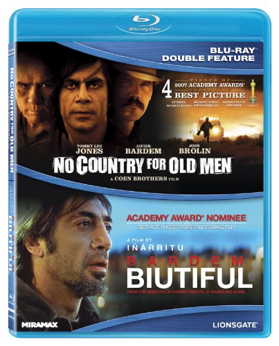 Javier Bardem Double-Feature (No Country For Old Men/ Biutiful) [Blu-ray]