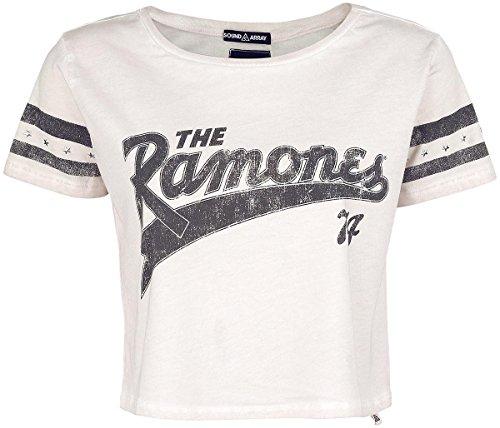 Ramones Baseball Maglia donna sabbia L
