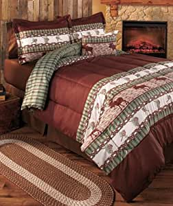 Amazon.com: Rustic Moose Discount Twin Comforter Set: Home