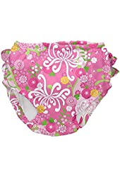 i play. Baby-Girls Infant Ultimate Ruffle Snap Swim Diaper